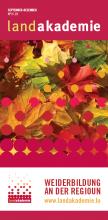 Die Herbstbroschüre 03/19 jetzt erhältlich